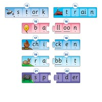 Match and Spell Next Steps Game Misplaced Pieces