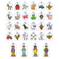 Old Macdonald Lotto Game Misplaced Pieces