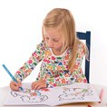 First Words Colouring Book