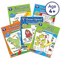 KS1 Home Learning Pack 4 | Five Activity & Sticker Books