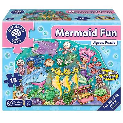 Mermaid Fun Jigsaw Puzzle