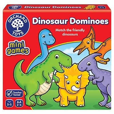 Dinosaur Dominoes Mini Game