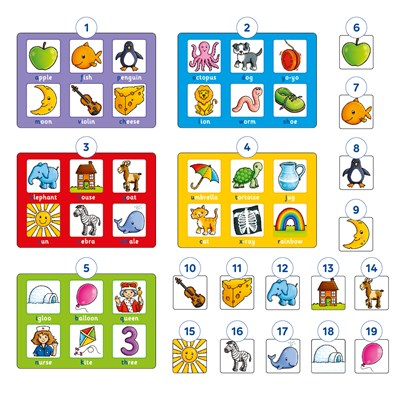 Alphabet Lotto Game Misplaced Pieces