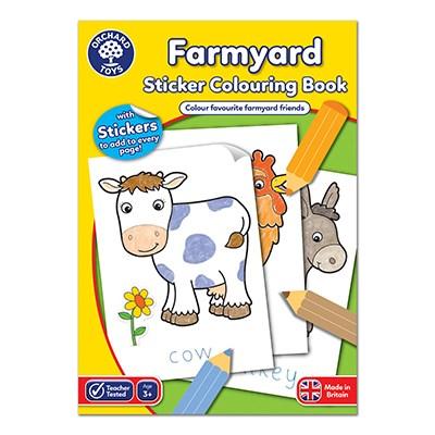 Farmyard Colouring Book