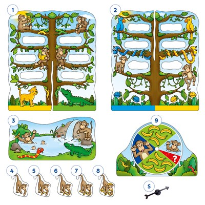 Cheeky Monkeys Game Misplaced Pieces