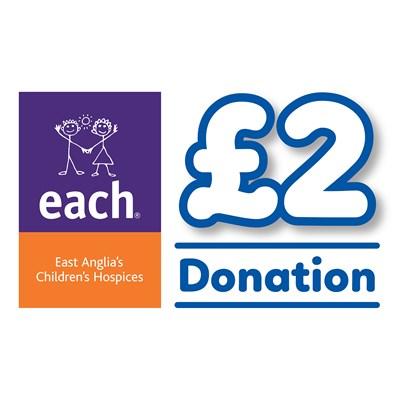 £2 EACH Donation