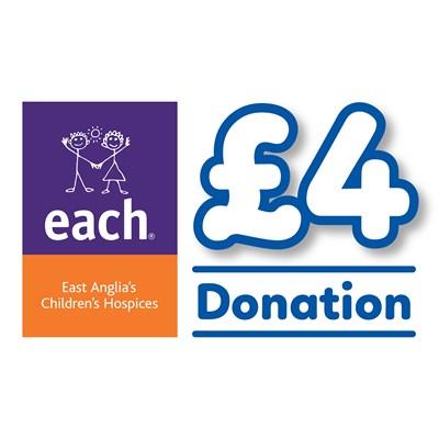 £4 EACH Donation