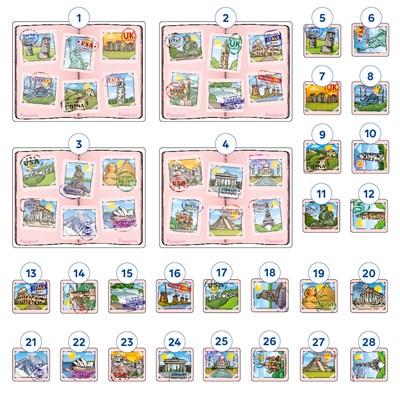 Landmark Lotto Mini Game Misplaced Pieces