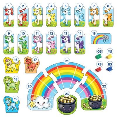 Rainbow Unicorns Game Misplaced Pieces