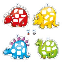 Dotty Dinosaurs Game Misplaced Pieces