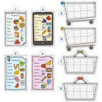Shopping List Misplaced Pieces